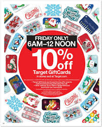 gift card deals black friday target offers big savings discounted gift cards for black friday