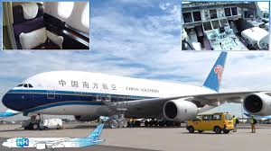 Airbus A 380 Interior China Southern Airbus A380 Cabin And Aircraft Review Youtube