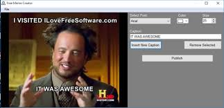 Free Meme Maker - 4 meme maker software for windows 10
