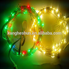 decoration lights for party high quality customized decoration party flexible led copper string