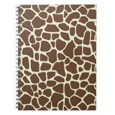 giraffe pattern notebook notebook giraffe giraffe