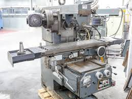 ajax cleveland no 2 universal horizontal milling machine with 3