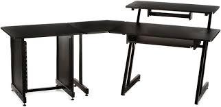 Corner Studio Desk Studio Workstation With 3 Shelf Studio Desk Corner Accessory 12u