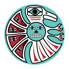 pacific northwest design pacific northwest design stock vector illustration of haida