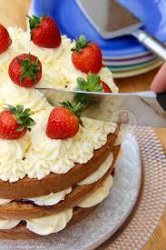victoria sponge celebration cake jane u0027s patisserie