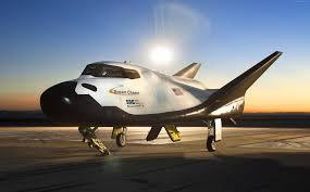wallpaper spacedev dream chaser space transportation system
