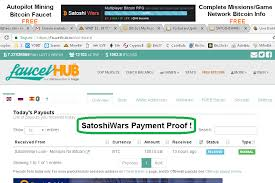 bitcoin info satoshi wars autopilot mining free faucet complete missions game