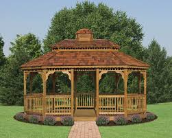 Backyard Wooden Gazebo Outdoor Furniture Design And Ideas - Gazebo designs for backyards