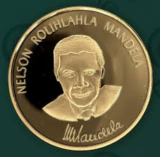 nelson mandela a long walk to freedom gold plated coin south