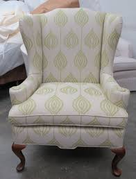 Ottoman Tulip by Traditional Wing Chair In Ottoman Tulip W Pillow U003d Totally