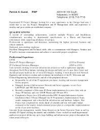 sample cover letter software project manager