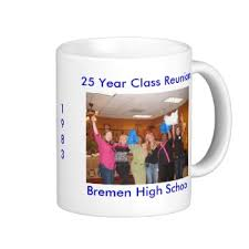 souvenirs for class reunions class reunion souvenir mug customized reunion