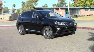 lexus rx los angeles 2013 lexus rx 350 and rx 450h quick peek youtube