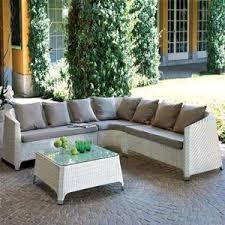 divanetti in vimini da esterno set giardino rattan e polyrattan completi di poltrone divani e