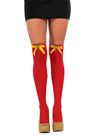 stockings halloween red halloween stockings