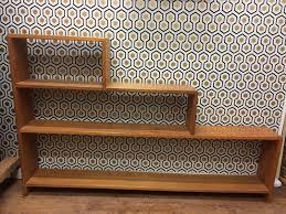 Ebay Bookcase by Vintage Art Deco Stepped Bookshelf Step Bookcase Wooden Case Retro
