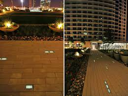 solar led paver lights luminous solar cynergy pavers light up the night in dallas