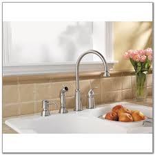 kitchen faucet with soap dispenser kitchen faucet soap dispenser soscia with and placement for your