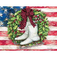 patriotic christmas cards christmas lights card and decore
