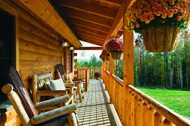 comforts of home cabin living