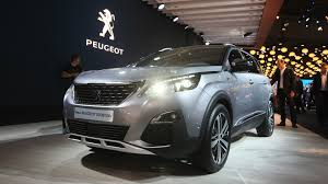 new peugeot peugeot 5008 7 seater gets an all new look for paris