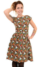 1950s inspired cute u0027all that jazz u0027 tea dress with vintage style