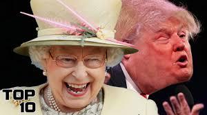 Queen Elizabeth Donald Trump Top 10 Laws Queen Elizabeth Doesn U0027t Have To Follow Part 2 Youtube