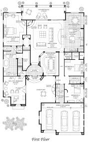 Luxury Homes Floor Plan British West Indies House Plan