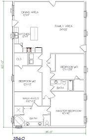 Shop Plans And Designs Steel Buildings With Living Quarters Floor Plans Similar Design