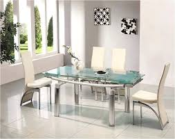 Glass Dining Table And 6 Chairs Glass Dining Table And Chairs Internationalfranchise Info
