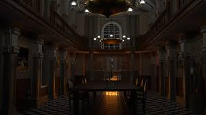 resident evil mansion dining hall renders hive rd blog