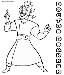 kim possible coloring pages coloring pages to download and print