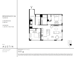 the austin condos of san francisco ca 1545 pine st floor plan the austin 2 bedroom jpg