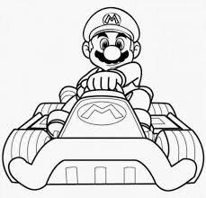 mario kart coloring pages instant knowledge