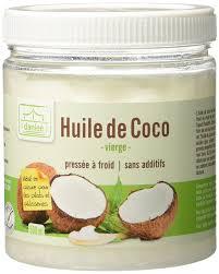 huile de coco en cuisine danlee huile de coco vierge 500 ml amazon fr epicerie