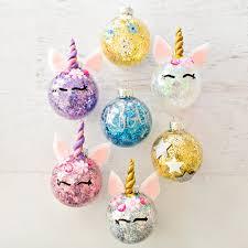 ornaments unicorn ornament personalized