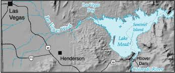 lake mead map water on the web data lake mead