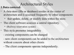 Architectural Design Styles Unit 3 3 Architectural Design