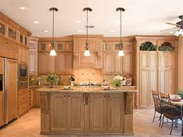 natural cherry wood kitchen cabinets sets design ideas