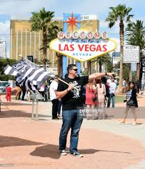 Raiders Flag Football Fans Celebrate Nfl Relocation Of Raiders To Las Vegas Photos And