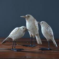 ceramicslife seagull seabirds ornaments resin crafts mediterranean