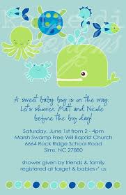 the sea baby shower invitations outstanding octopus baby shower invitations 67 in baby shower