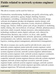 Systems Engineer Resume Examples by Top 8 Network Systems Engineer Resume Samples