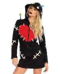 cozy voodoo doll halloween costume leg avenue 86669 ebay
