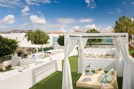 Schlafzimmerm El Vito Hotel Aequora Lanzarote Suites Spanien Puerto Del Carmen