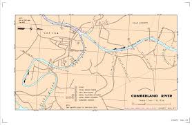 cumberland river map localwaters obey river maps boat rs