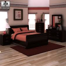 ashley huey vineyard sleigh bedroom set by humster3d 3docean