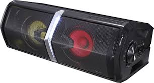 Party Speakers With Lights Lg Loudr Powered 2 Way Wireless Speaker Each Black Fh6 Best Buy
