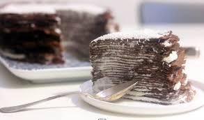 comment cuisiner un gateau au chocolat gâteau de crêpes chocolat coco crêpes au chocolat de michalak