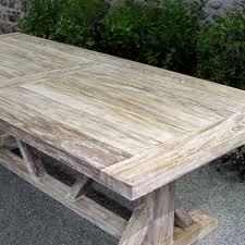 Patio Teak Furniture Farmhous Beam Table Teak Outdoor Furniture Terra Patio